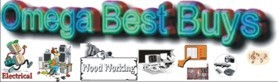 Omega Best Buys - great buys on tools, electronics and more